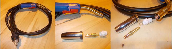 Горелка для дуговой сварки (Arc welding torch)